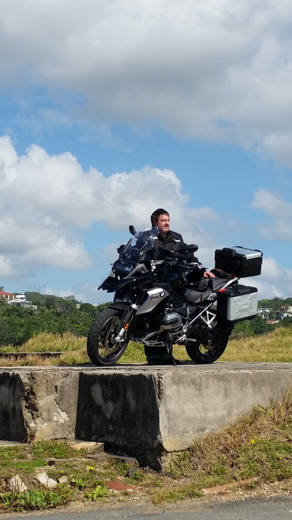 Rod (BMW R1200GS) Hero as he conquered the big blocks.